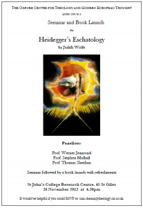 HeideggersEschatologyPoster