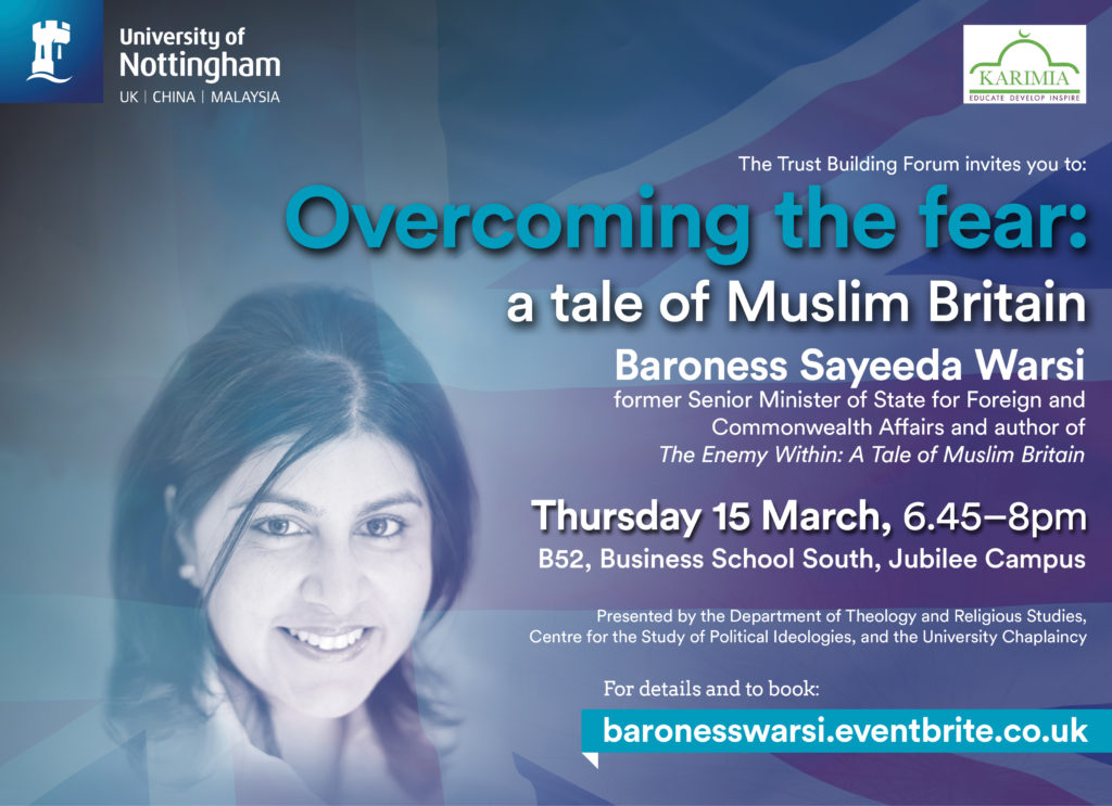 Overcoming the fear: a tale of Muslim Britain